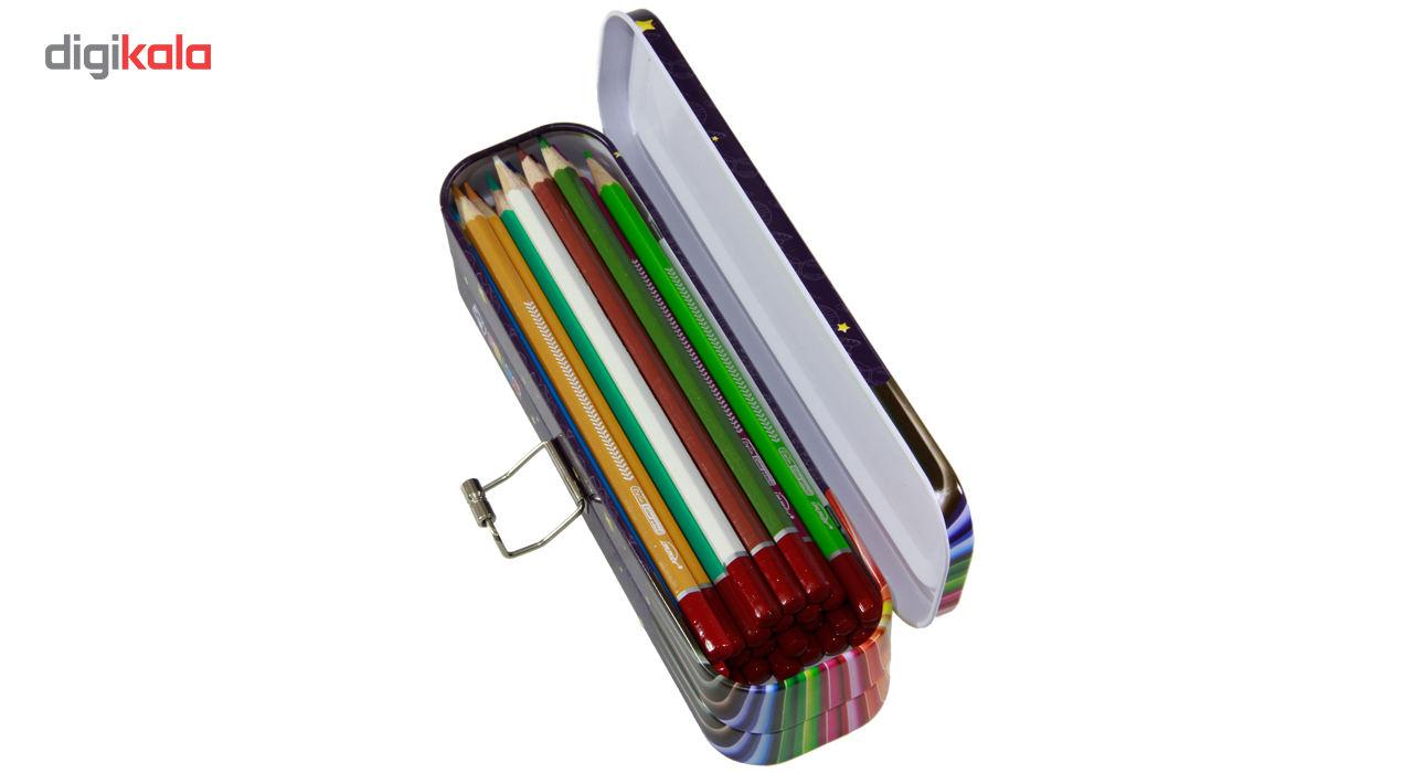 مداد رنگی 24 رنگ ایمر مدل JM 785-24 D main 1 2