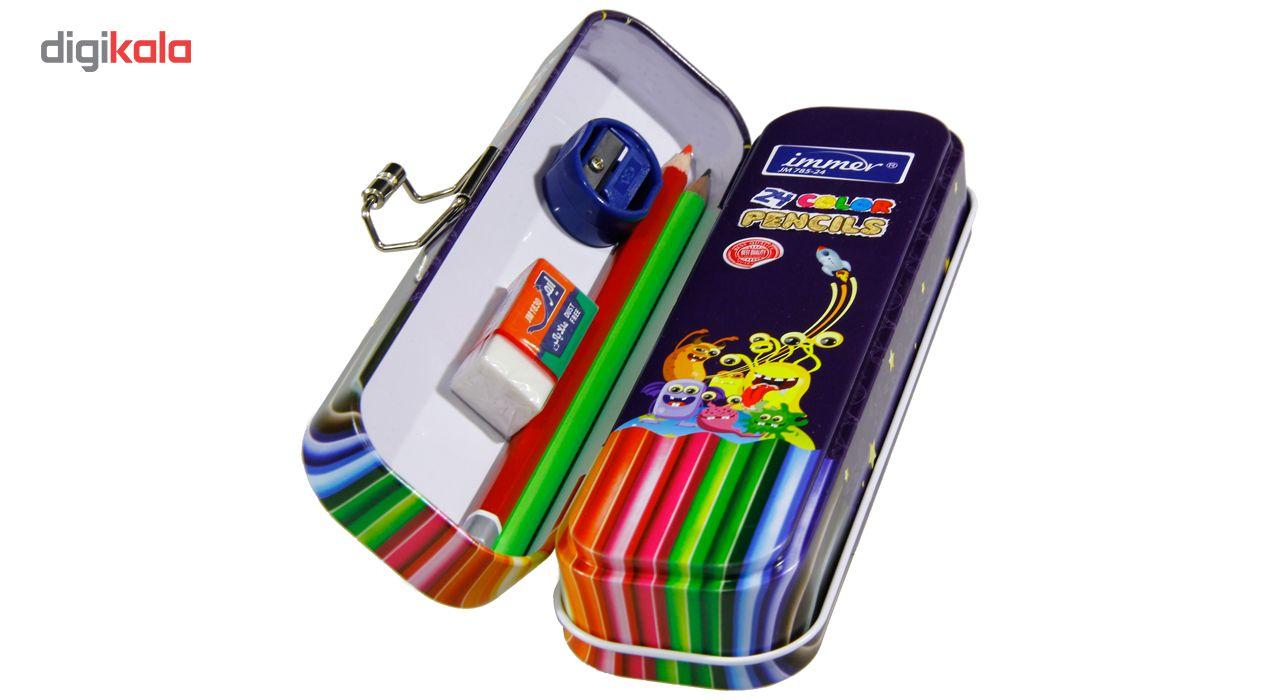 مداد رنگی 24 رنگ ایمر مدل JM 785-24 D main 1 4