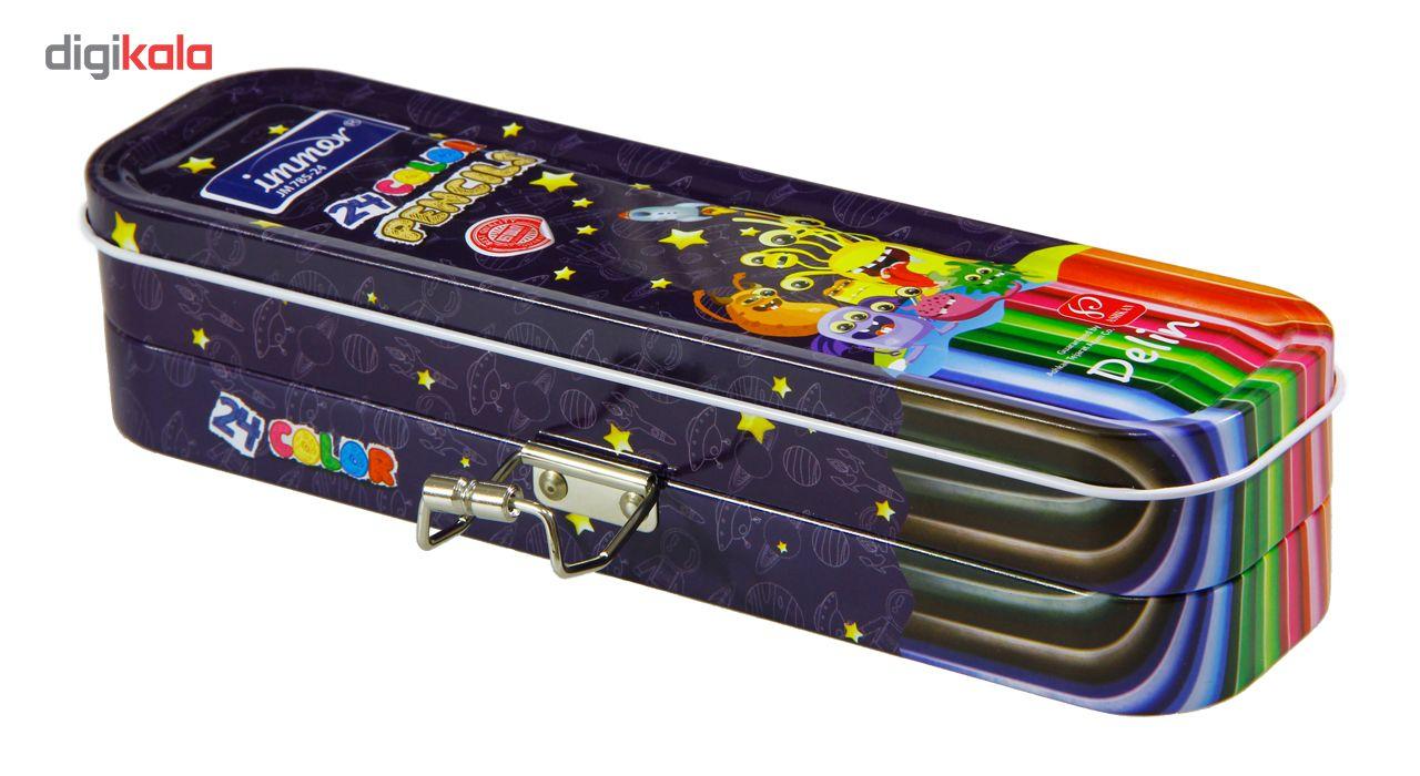 مداد رنگی 24 رنگ ایمر مدل JM 785-24 D main 1 5