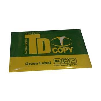 کاغذ 80 گرمی تی دی کپی سایز A4 بسته 500 عددی