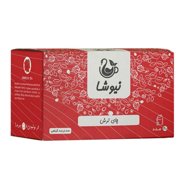 دمنوش چای ترش نیوشا مدل Red Tea