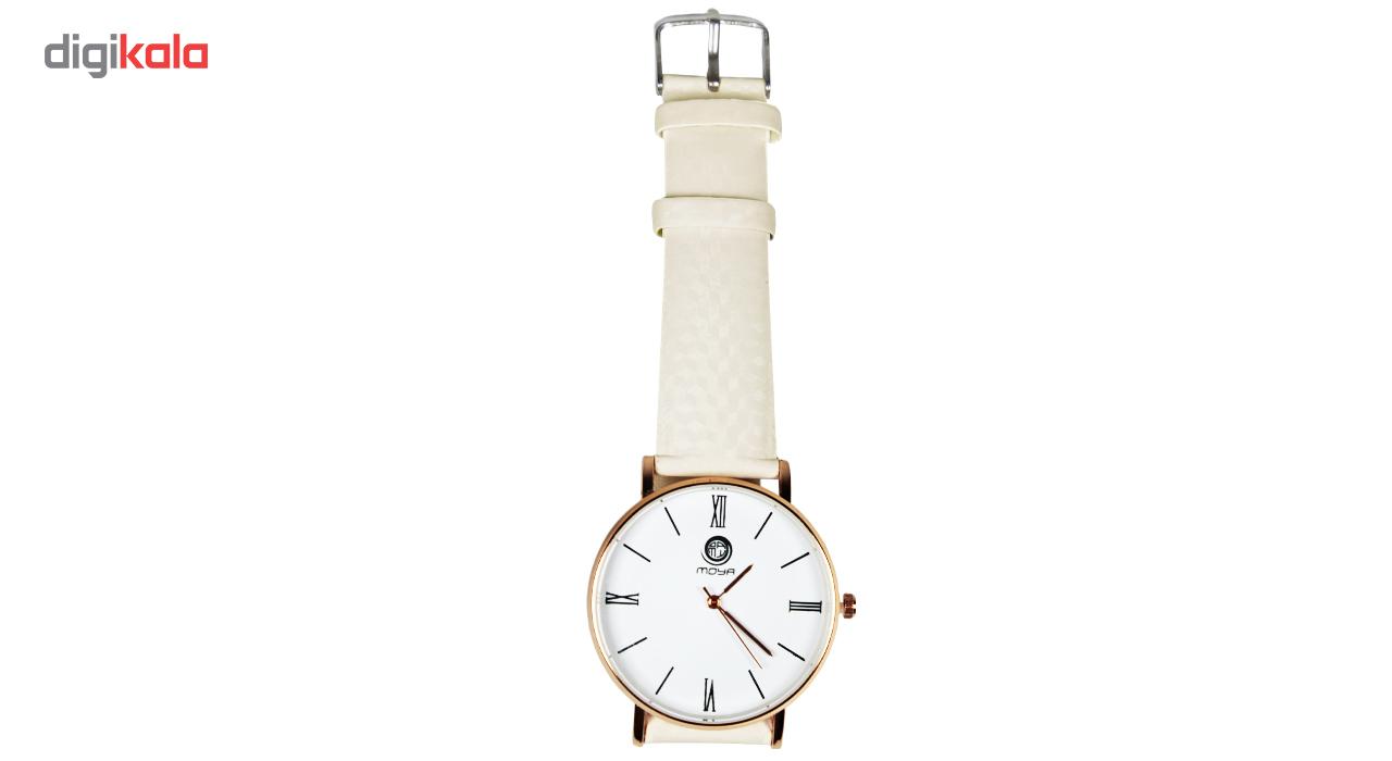 ساعت زنانه با رنگ متغیر در نور آفتاب مویا کد 003