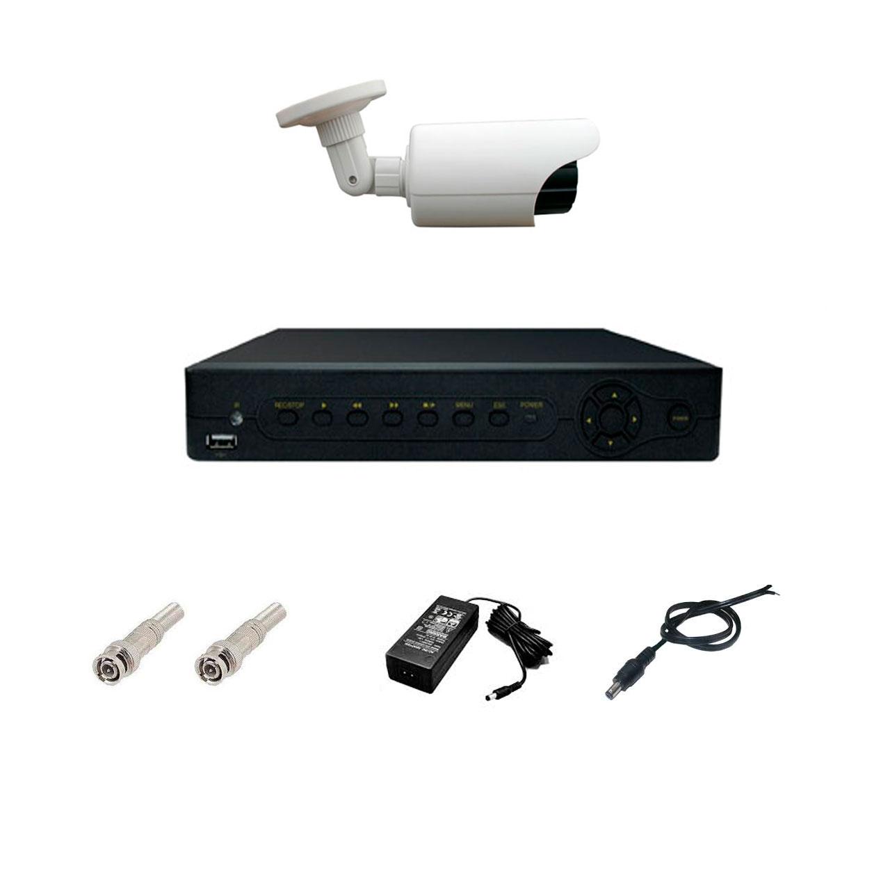 پک سیستم امنیتی دوربین مداربسته نظارتی SX4001A