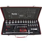 مجموعه 24 عددی آچار بکس رونیکس مدل  RH-2624 با سری های شش گوشه thumb