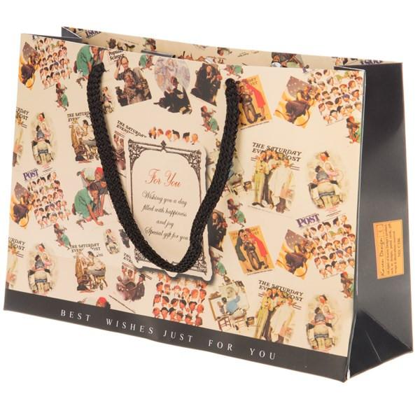 پاکت هدیه افقی جیحون مدل For You طرح عکس های قدیمی سایز کوچک