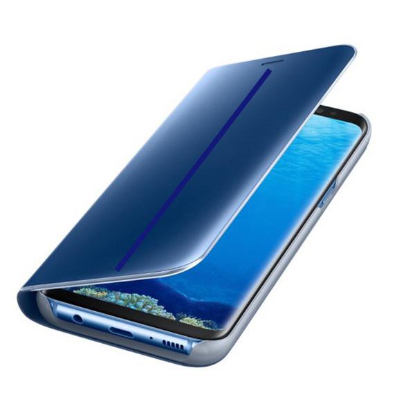 کیف کلاسوری چرمی HDD مدل Open Face Protective Case مناسب برای گوشی موبایل سامسونگ گلکسی S8