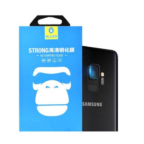 محافظ لنز دوربین شیشه ای بلو مدل تمپرد مناسب برای گوشی موبایل سامسونگ Galaxy S9