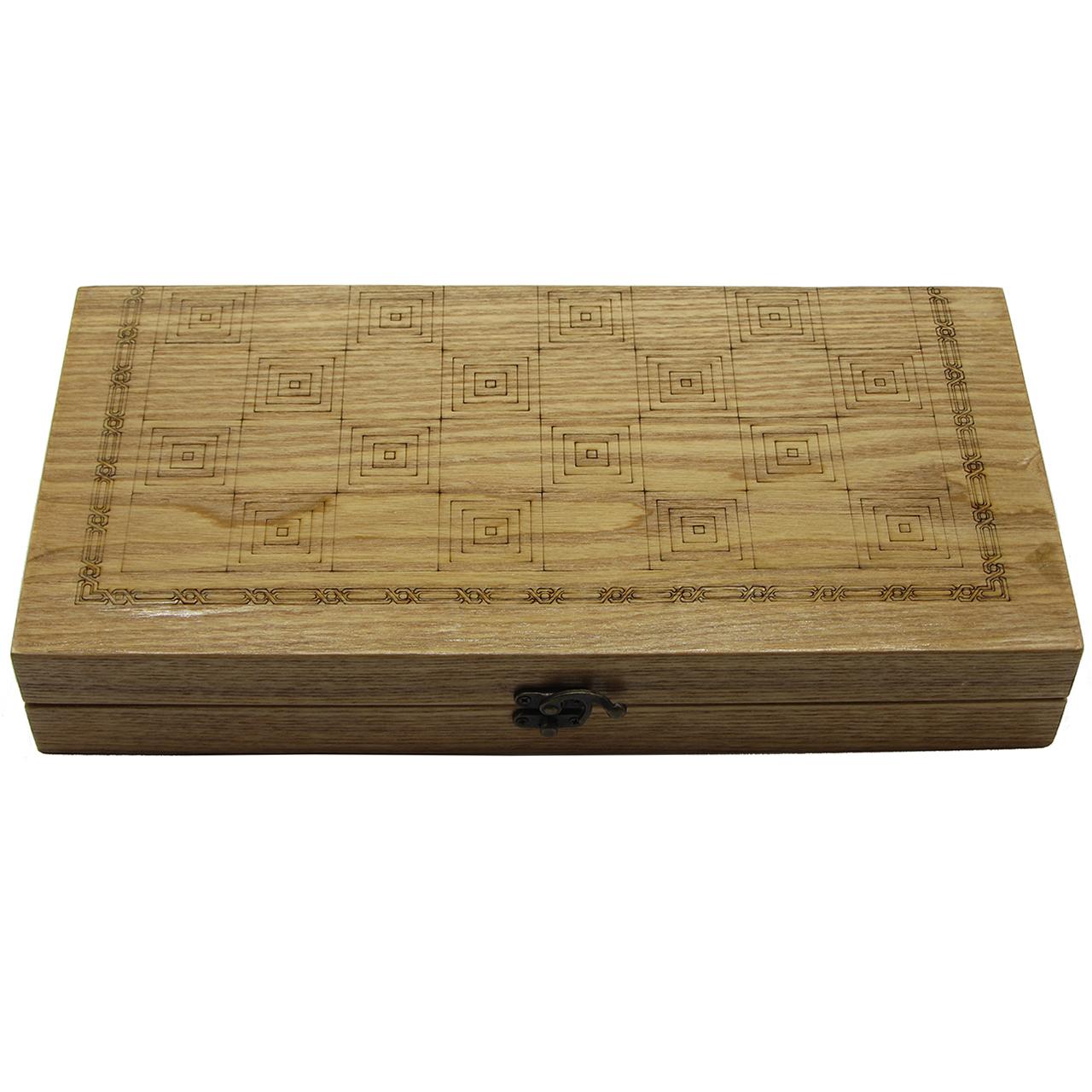 صفحه شطرنج و تخته نرد - طول 40 سانتیمتر