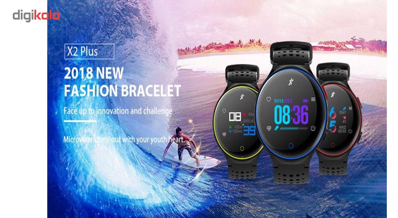 ساعت هوشمند میکروویر مدل X2 PLUS سنسور اکسیژن خون main 1 3