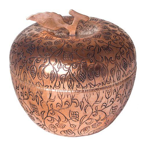 قندان مسی زنجان طرح سیب مدل 599