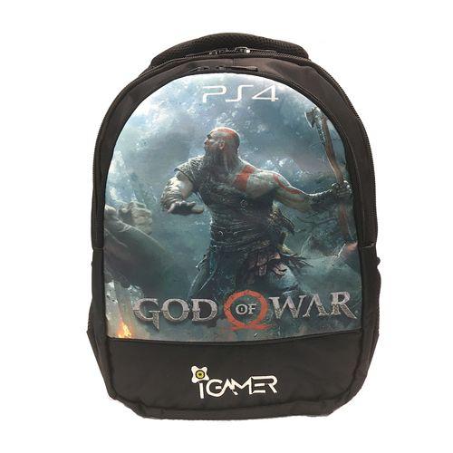 کیف کنسول PS4  آی گیمر مدل  God Of War 2