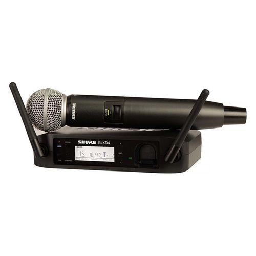 میکروفن داینامیک بی سیم شور مدل GLXD24/SM58