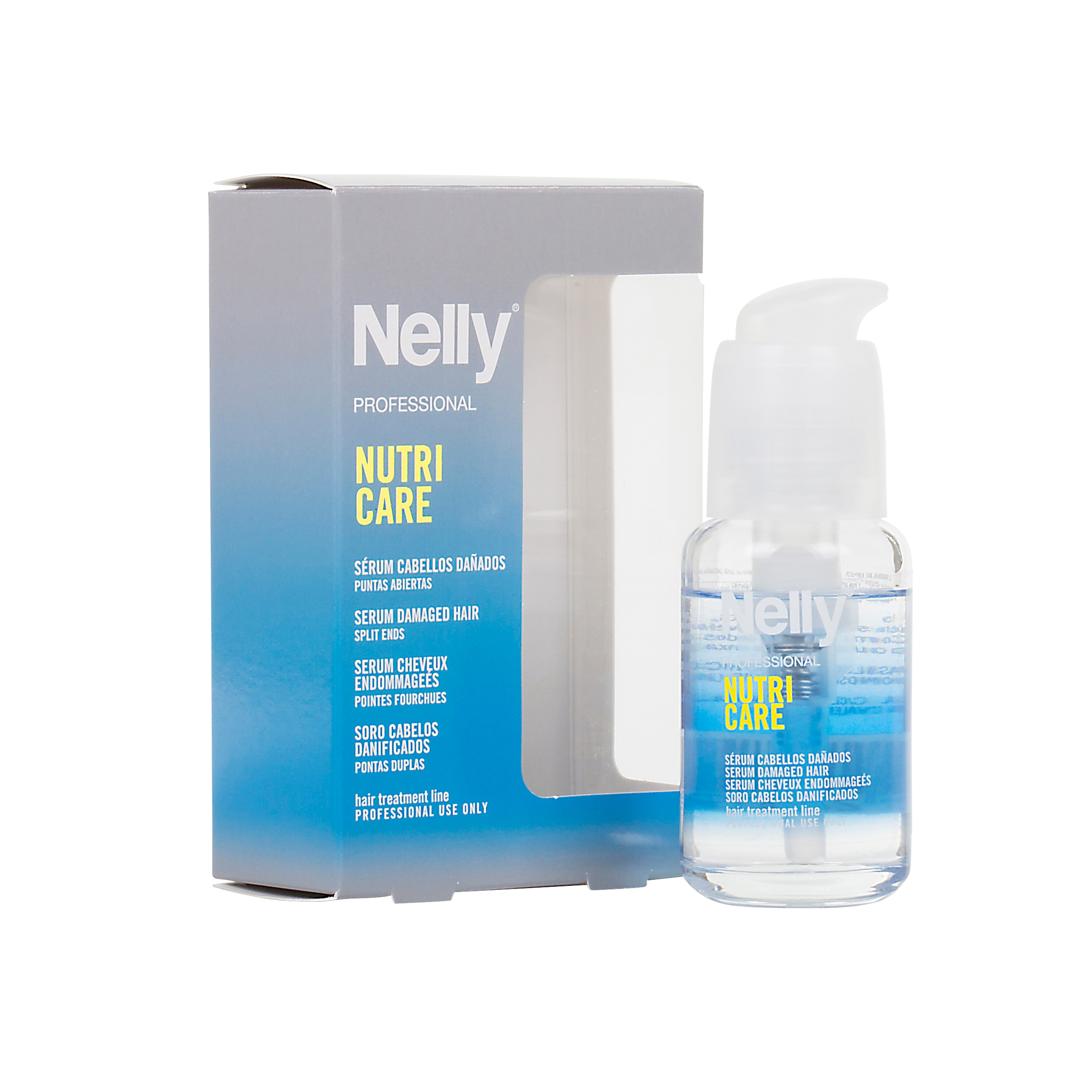 قیمت سرم موی ترمیم کننده نلی مدل Nutri Care حجم 45 میلیلیتر