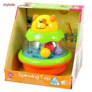 بازی چرخانک پلی گو مدل صفحه گردان کد 2475  Play Go Spinning Top 2475