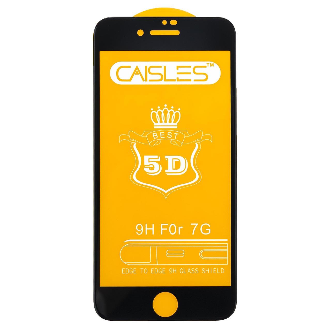 گلس محافظ صفحه نمايش شيشه اي مدل CAISLES مناسب براي گوشي موبايل اپل iPhone 7/8