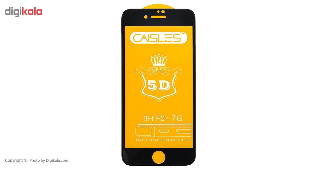 گلس محافظ صفحه نمايش شيشه اي مدل CAISLES مناسب براي گوشي موبايل اپل iPhone 7/8 main 1 1