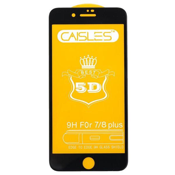 گلس محافظ صفحه نمايش شيشه اي مدل CAISLES مناسب براي گوشي موبايل اپل iPhone 7 Plus/8 Plus
