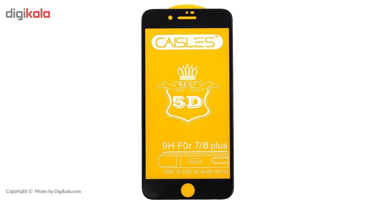 گلس محافظ صفحه نمايش شيشه اي مدل CAISLES مناسب براي گوشي موبايل اپل iPhone 7 Plus/8 Plus main 1 1