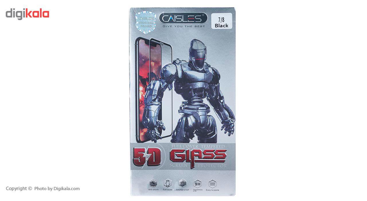 گلس محافظ صفحه نمايش شيشه اي مدل CAISLES مناسب براي گوشي موبايل اپل iPhone 7/8 main 1 4