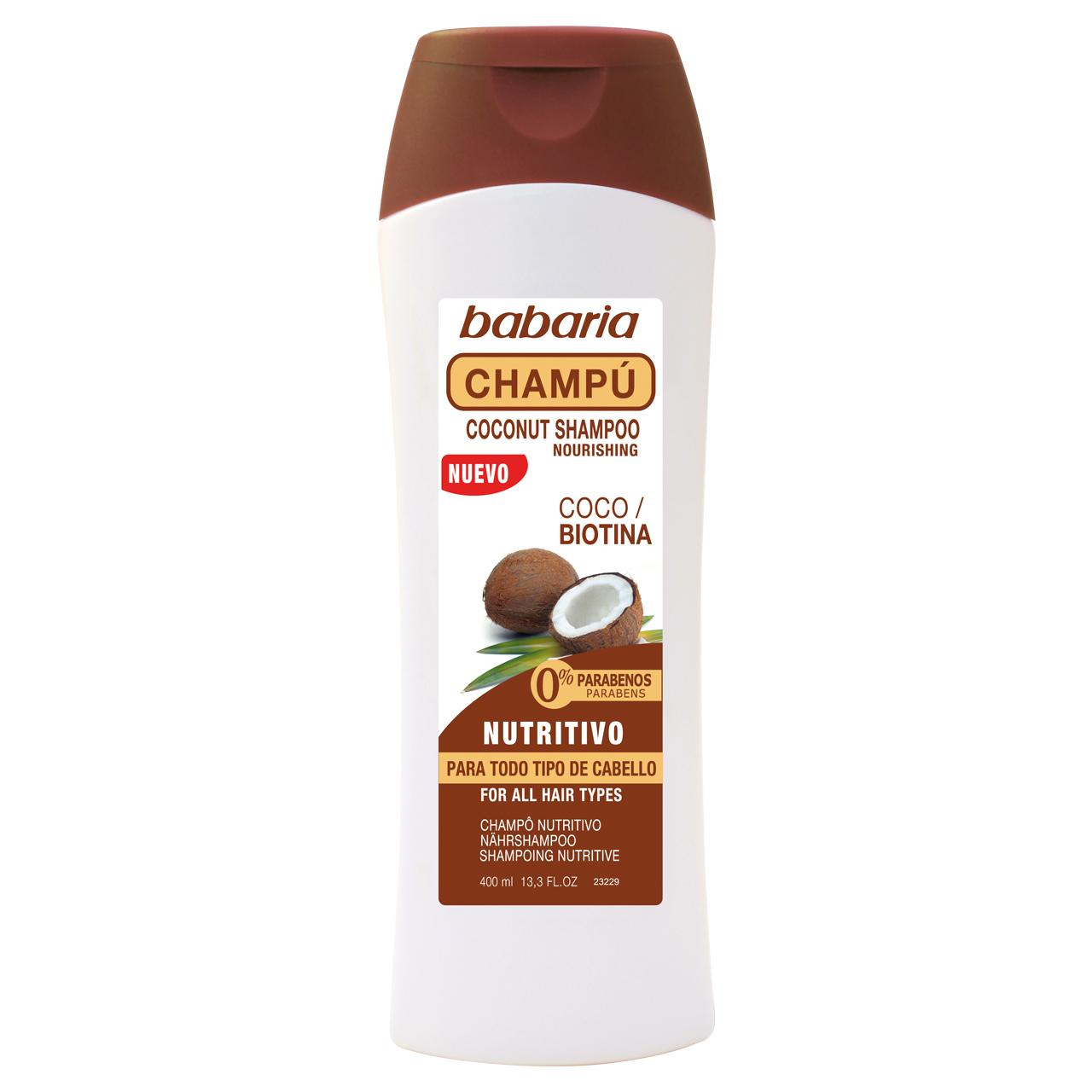 قیمت شامپو تقویت کننده باباریا بدون پارابن مدل Coco Biotina حجم 400 میلی لیتر
