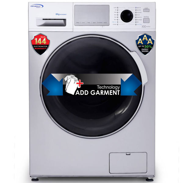 ماشین لباسشویی جنرال آدمیرال مدل W-GI4805 با ظرفیت 8 کیلوگرم