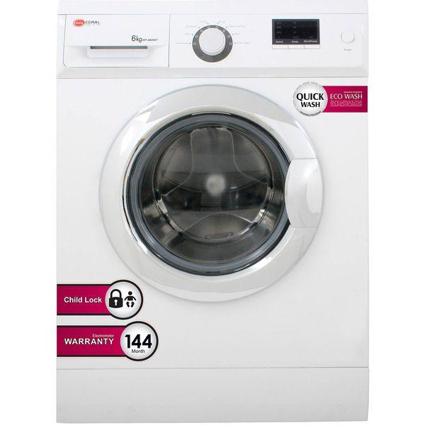ماشین لباسشویی کرال مدل WF685 با ظرفیت 6 کیلوگرم