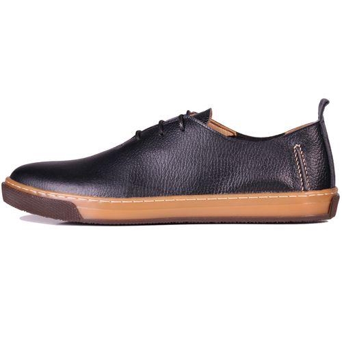 کفش مردانه چرم طبیعی ژاو مدل 1161