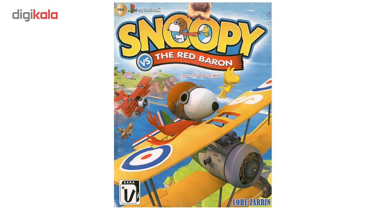 بازی Snoopy VS The Red Baron مخصوص پلی استیشن 2