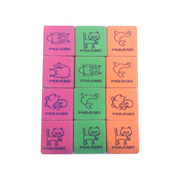 پاکن میرانو مدل animals بسته 12 عددی
