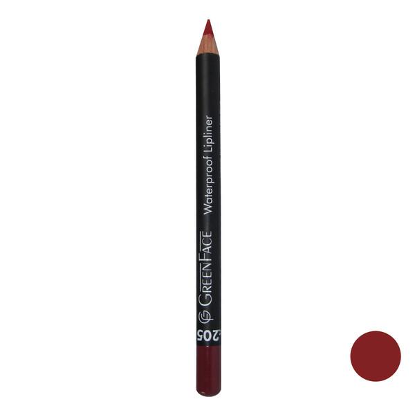 مداد لب گرین فیس شماره 205