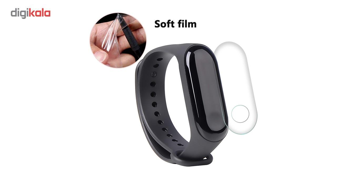 محافظ صفحه نمایش دستبند هوشمند شیائومی مدل Nano مناسب برای Xiaomi Mi Band 3 main 1 1