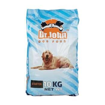 غذای خشک سگ دکتر جان مدل Starter مقدار 10 کیلوگرم