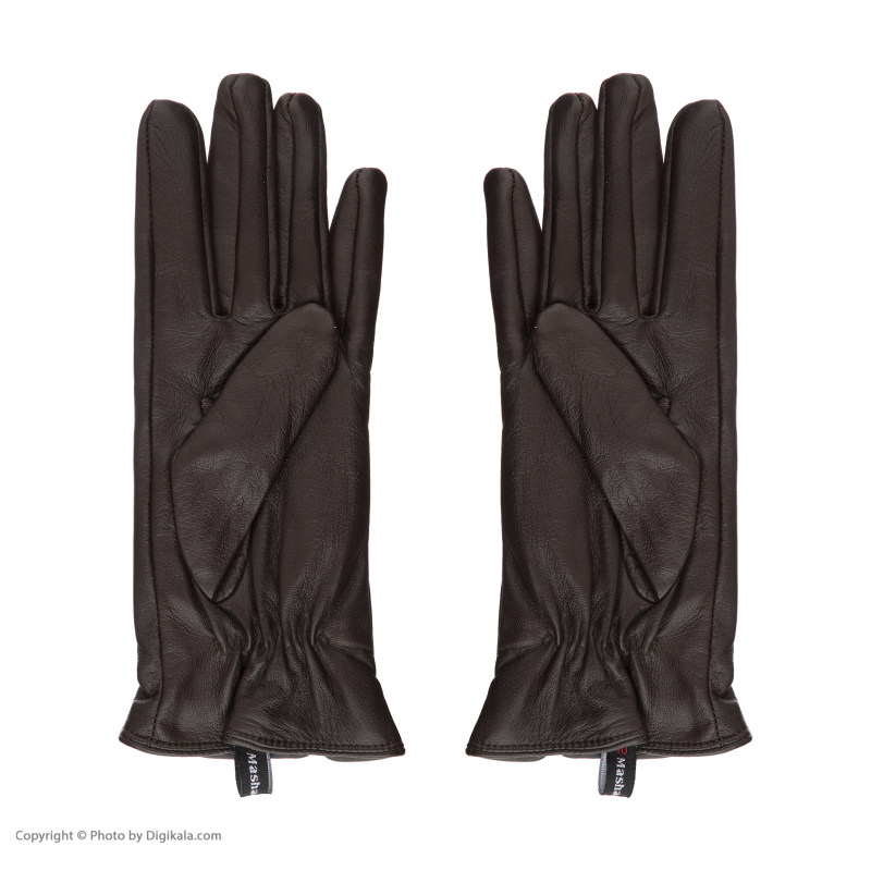 دستکش زنانه چرم مشهد مدل R0149-091