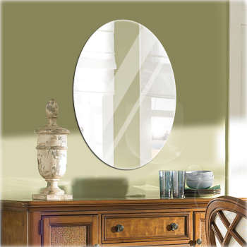 آینه سایان هوم مدل بیضی