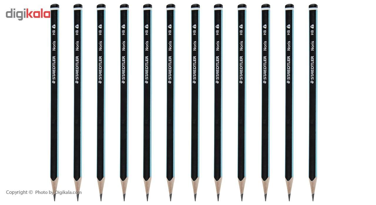 مداد مشکی استدلر مدل Noris بسته 12 عددی main 1 1