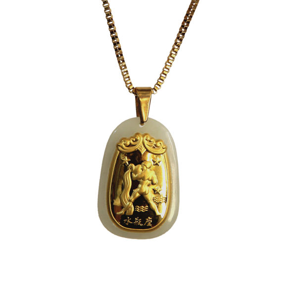 گردنبند طلا 24 عیار ماربلین کدGJ11MO |
