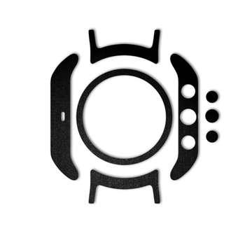 بسته 2 عددی برچسب ماهوت مدل Black-suede Special  مناسب برای ساعت هوشمندLG Watch Spor t