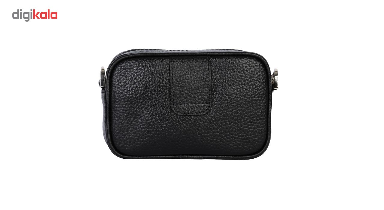 کیف دوشی رویال چرم کد W60-Black