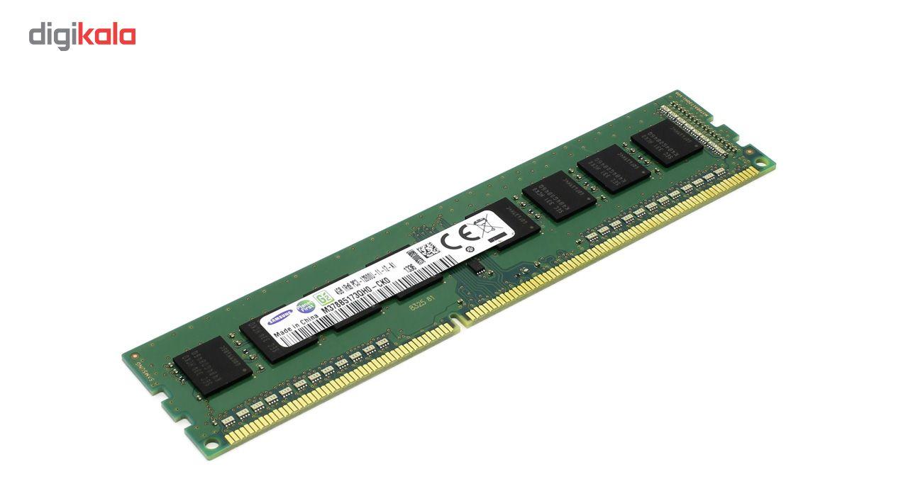 رم کامپیوتر سامسونگ مدل DDR3 1600MHz 240Pin DIMM  12800 ظرفیت 4 گیگابایت main 1 1