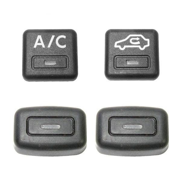 کلید بخاری و کولر خودرو مدل KM 44 مناسب برای پژو بسته 4 عددی