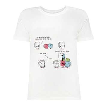 تی شرت آستین کوتاه زنانه مدل SK99Wiwa-052