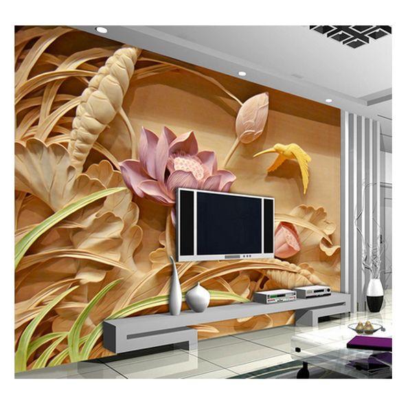 کاغذ دیواری سالسو طرح گل گندمA008 | salso wallpaper 008