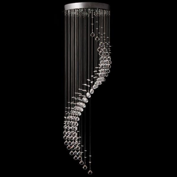 لوستر سقفی لوستر سازان مدل دم ماهی کد Ldb3/130
