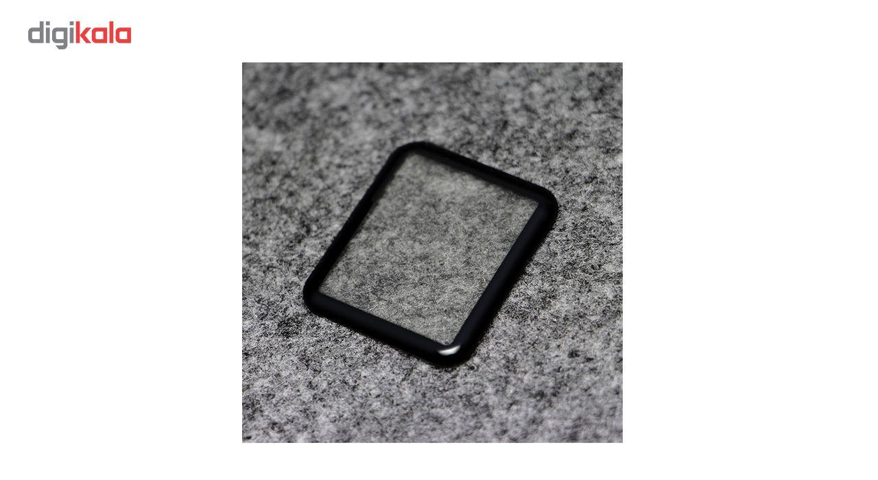 محافظ صفحه نمایش شیشه ای مدل Tempered Glass 3D مناسب برای اپل واچ 38 میلی متر main 1 2