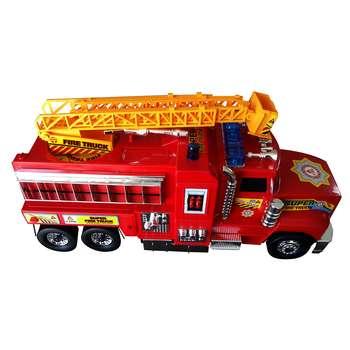 ماشین آتش نشانی قدرتی مدل نردبان دار