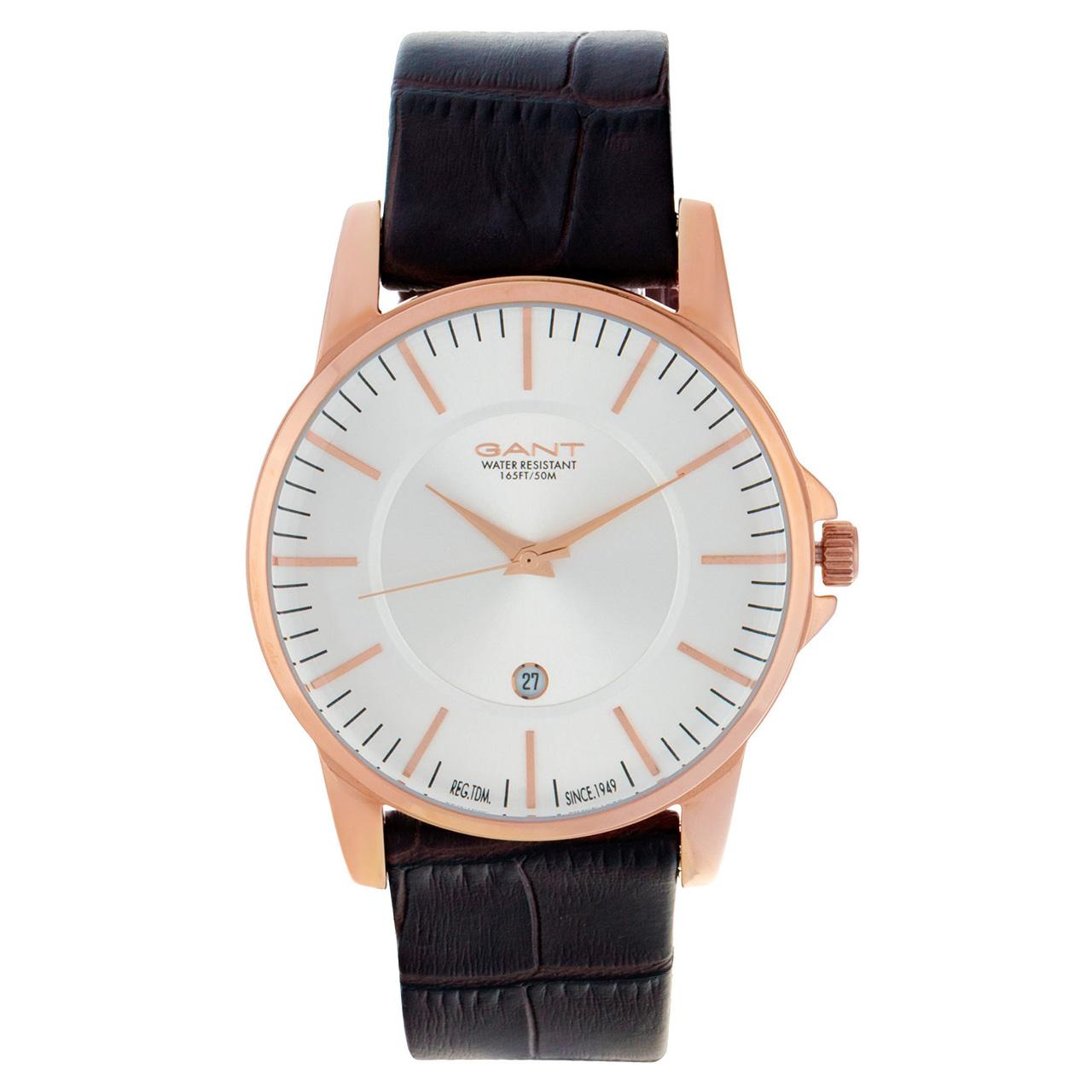 ساعت مچی عقربه ای مردانه گنت مدل GW004003