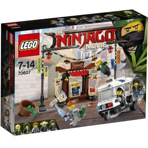 لگو سری Ninjago مدل Ninjago City Chase 70607