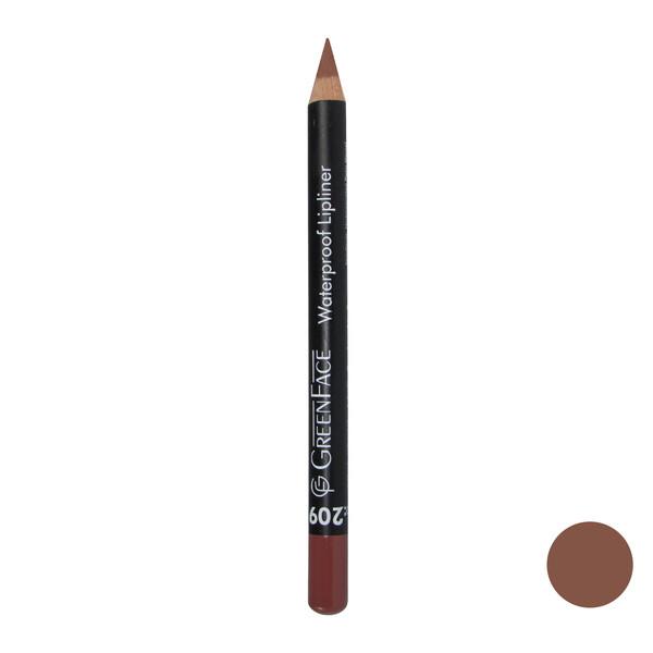 مداد لب گرین فیس شماره 209