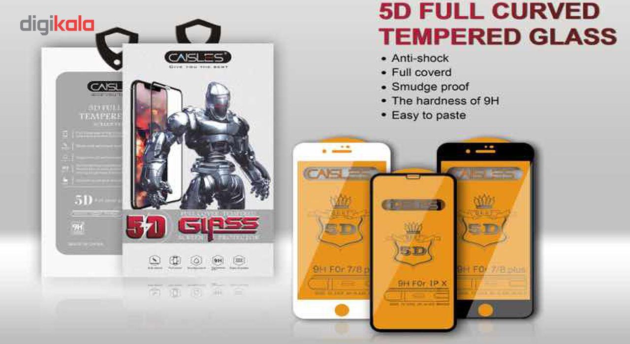 گلس محافظ صفحه نمايش شيشه اي مدل CAISLES مناسب براي گوشي موبايل اپل iPhone 7 Plus/8 Plus main 1 2