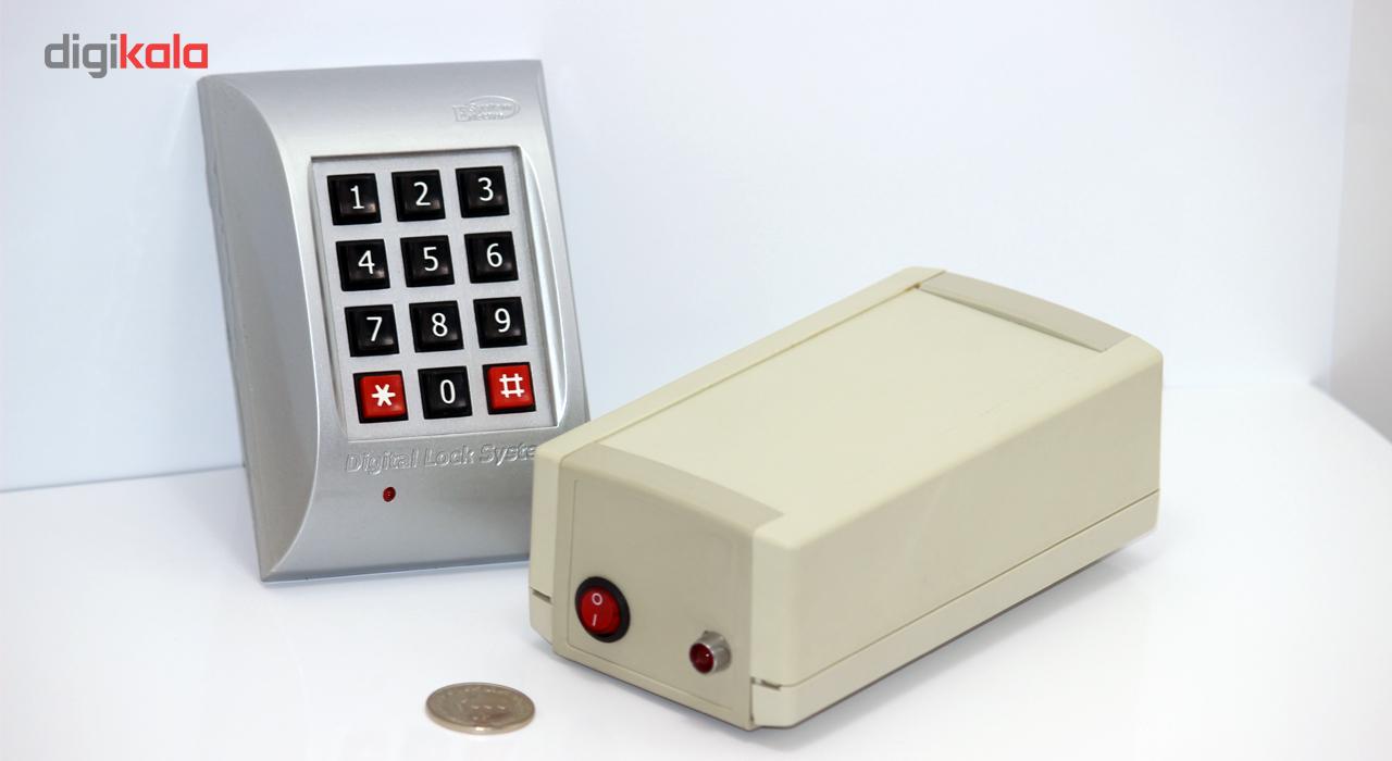 قیمت                      دستگاه کنترل تردد و قفل رمز الکتروسیستم مدل ESD20P